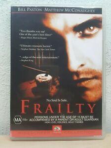 Frailty (DVD) Matthew McConaughey - Bill Paxton - REGION 4 AUSTRALIA