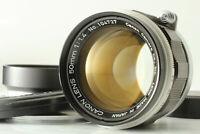 [MINT] CANON 50mm f/1.4 L39 LTM Leica Screw Lens late model w/ Hood From Japan