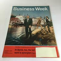 Business Week Magazine: Sept 7 1968 - At Bemis, Too, The Hot Word Is Synergism