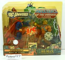 MOTUC, Superman vs He-Man, MOC, sealed, Masters of the Universe Classics, MISB