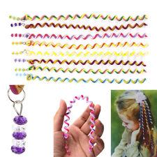 Fashion DIY Magic Rainbow Roller Curler Spiral Curls Hair Styling Tool Plastic