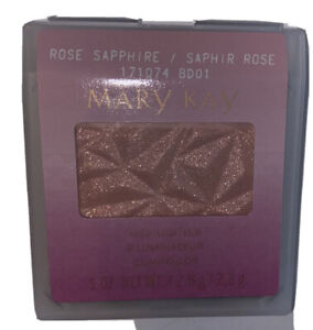 Mary Kay Limited Edition A Touch Of Jewels Blush / Highlighter ROSE SAPPHIRE New