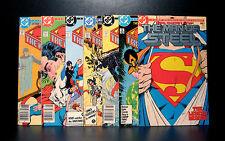 COMICS: DC: Superman: Man of Steel #1-6 (1980s) set (7 bks with variant) - RARE