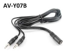 6ft 3.5mm Stereo Female to 2-Male Y-Splitter Audio Cable, CablesOnline AV-Y07B