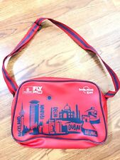 Emirates Airline Red Shoulder Bag Lonely Planet Kids Hand Bag Carry Tote