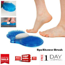 Foot Brush Scrubber Bathroom Bath Feet Shower Spa Cleaner Scrub Massager Product