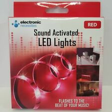 Electronic Necessities Sound Activated LED Lights 1M