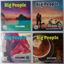 'Big People Vol 13-16' JUMBO 4CD Pack (Mature Reggae Music) Exclusive Promo CDs