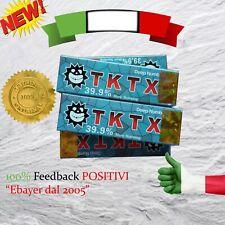 TKTX 39,9% BLU - Crema Anestetica Tattoo Piercing Trucco MakeUp piercing Laser