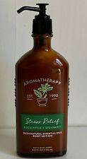 BATH & BODY WORKS AROMATHERAPY STRESS RELIEF BODY LOTION EUCALYPTUS + SPEARMINT