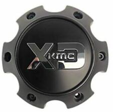 KMC XD Satin Black 6x5.5 Bolt On Center Cap for XD203 XD200 XD818 Wheels