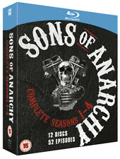 Sons of Anarchy: Complete Seasons 1-4 Blu-ray (2012) Charlie Hunnam
