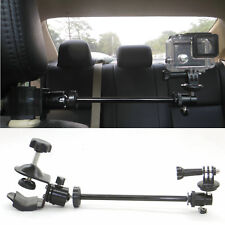 Video Camera Car Headrest Mount suitable for GoPro Camcorders & more