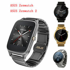 For ASUS Zenwatch 2 Stainless Steel Watch Band Quick Release Butterfly Buckle