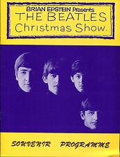 BEATLES Memorabilia 1963/64 Christmas Show Souvenir Programme (1993 REPRINT)