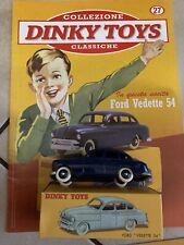 """DINKY TOYS FORD VEDETTE 54 SCALA 1/43 - DE AGOSTINI 27 """"E"""""""