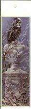 Nene Thomas Print Bookmark Winter Wings Snow Owl Black