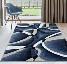 Rugs Area Rugs Carpets 8x10 Rug Floor Modern Large Living Room Big Blue 5x7 Rugs