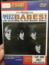Meet The Babes - Life According To Four Bitchin Babes ex-rental DVD (Music) rare