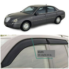LE40202 Window Visors Guard Vent Wide Deflectors For Lancia Thesis Sd 2002—2009