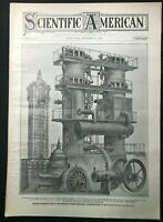 SCIENTIFIC AMERICAN - Oct 19 1907 - EARLY AVIATION AIRPLANE PHOTOS / Early Autos