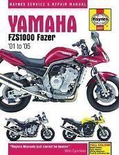 2001-2005 Haynes Yamaha FZS1000 Fazer Hardback Repair Manual