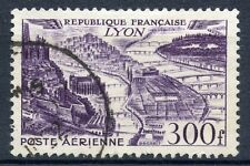 STAMP / TIMBRE FRANCE OBLITERE POSTE AERIENNE N° 26 LYON