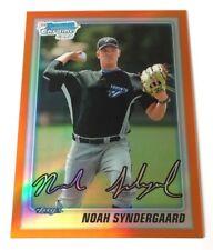2010 Bowman Noah Syndergaard Orange Refractor 22/25