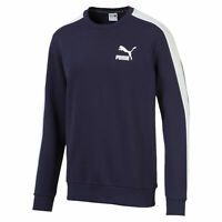 PUMA Iconic T7 Men's Fleece Crewneck Sweatshirt Men Sweat Sport Classics