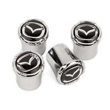 Mazda Logo Tire Valve Stem Caps - USA Made Quality