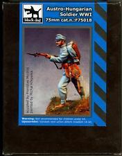 Blackdog Models 75mm AUSTRO-HUNGARIAN SOLDIER Resin Figure