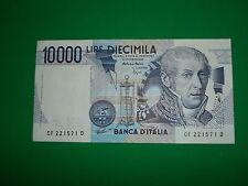 AUTENTICA 100% Banconota da 10.000 lire SPL/FLC A. Volta Repubblica Italiana
