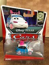 2013 Disney PIXAR Cars 2 TUNERS SUKI blue and white WILL COMBINE