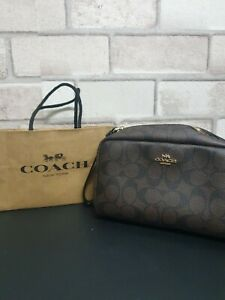Coach Leather Cosmetic Bag- Brand New