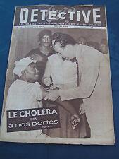 Détective 1947 72 BEL AIR COMBRéE PICAUVILLE MONTEREAU LA MURE MOTTE D'AVEILLANS