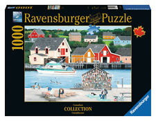 Ravensburger puzzle * 1000 t * Canadian Collection * fisherman's Cove * rareza * OVP