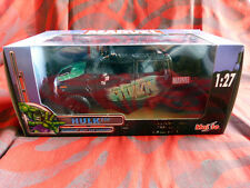 "Voiture Marvel Die Cast Collection Maisto ""HULK"" Hummer H2 Sut concept  En boîte"