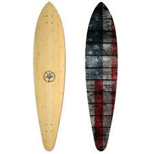New Woodstock Drifter Pin Bamboo 46 Inch Longboard Deck Longboard Deck Only