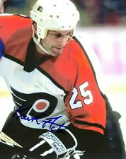 Signed  8x10 KEITH ACTON Philadelphia Flyers Photo - COA
