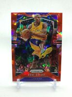 2019-2020 Panini Prizm Kobe Bryant Red Cracked Ice #8 - New!