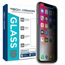 Tech Armor Privacy Ballistic Glass Screen Protector for Apple iPhone X / Xs