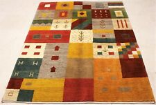 Gabbeh Perser Orient Teppich handgeknüpf Ghashghai Shiraz IRAN 200cmx151cm NEU