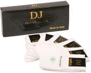 6  Diabetic socks. Black or White.Unisex Made in Italy