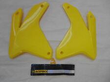OUIES PROTECTIONS RADIATEUR ACERBIS JAUNE MOTO SUZUKI RMZ 450 05 / 06