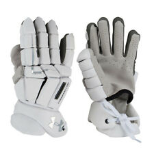 Under Armour Command Pro 3 Lacrosse Goalie Gloves - White (NEW)