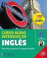 Curso Pons Audio intensivo Inglés, nivel inicial-intermedio