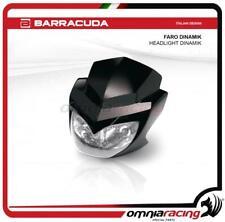 Barracuda Faro Dinamik universale per moto naked colore nero opaco