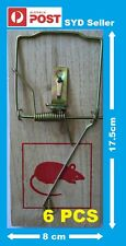 6 PCS 17.5 cm x 8 cm Wooden Mouse / Rat Trap Fast Delivery