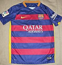 Fc Barcelona Club Spain Soccer Team Nike Unicef Jersey Medium Size 14 Boys