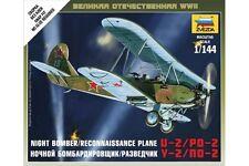 ZVEZDA 6150 1/144 Night Bomber/Reconnaissance Plane U-2/PO-2